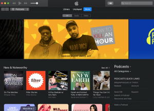 iTunes front page 2019